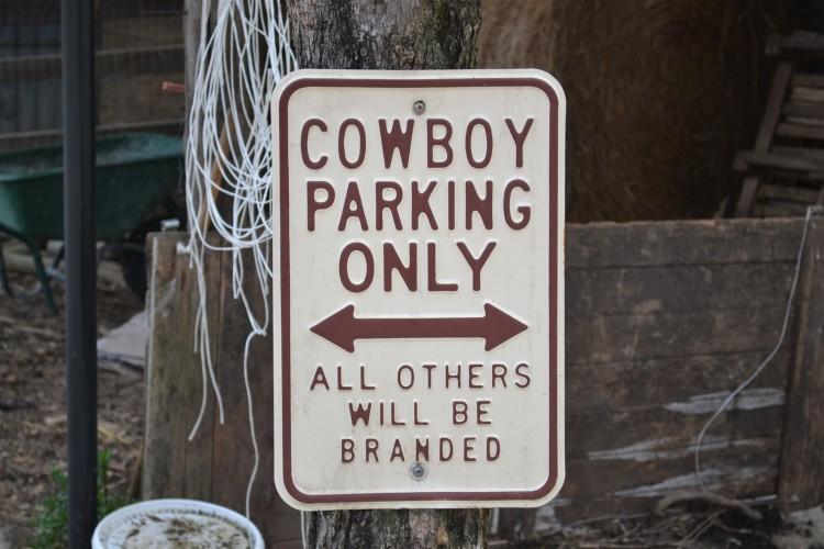 Cowboy Parking